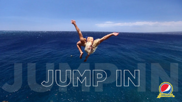 "Pepsi is inviting people around the world to ""jump in"" to the new Pepsi Challenge (CNW Group/PepsiCo Canada)"