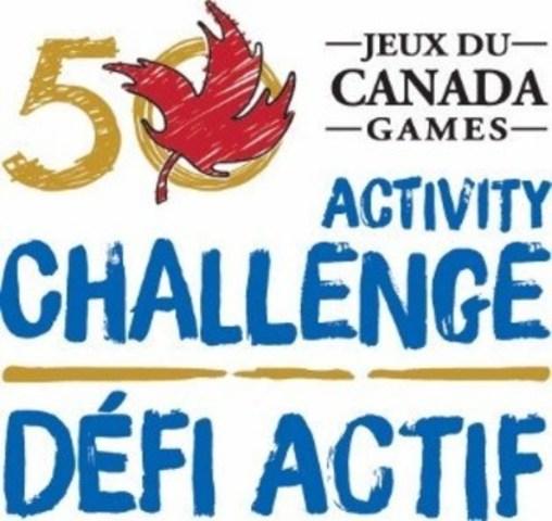 Logo : Défi actif Jeux du Canada (Groupe CNW/Conseil des Jeux du Canada)