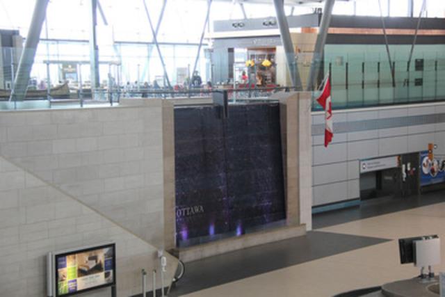 L'aéroport international d'Ottawa (Groupe CNW/Astral Affichage)