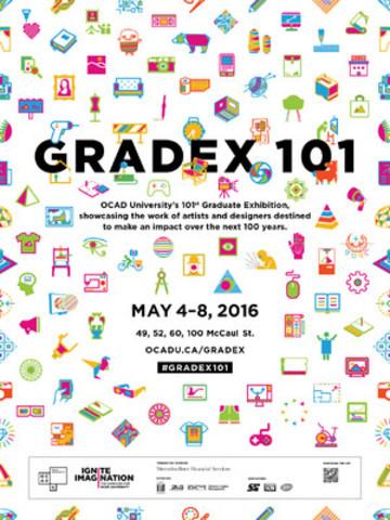 GradEx 101 OCAD University's Graduate Exhibition (CNW Group/OCAD University)