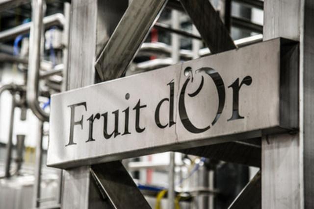 Inauguration de la nouvelle usine de Fruit d'Or, située à Plessisville, dans le Centre-du-Québec (Groupe CNW/Fruit d'Or)