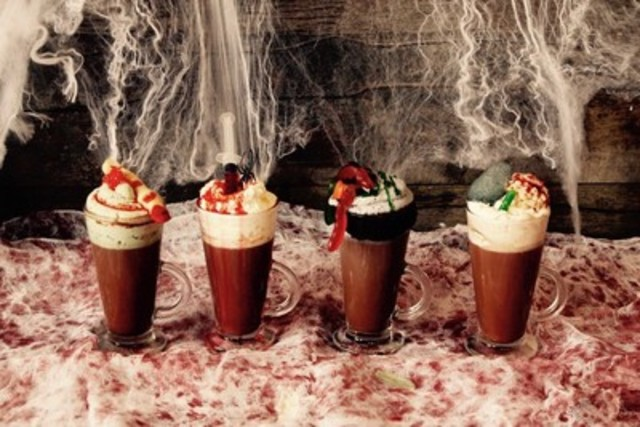 Ghoulishly Delicious Hot Chocolates (CNW Group/Great Events Group)