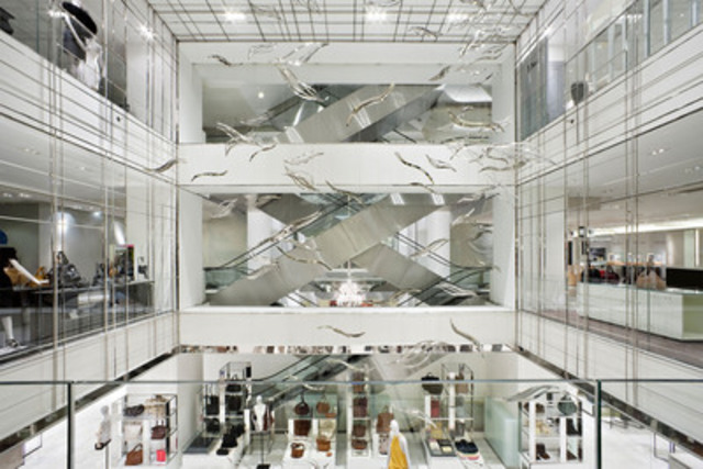 George Yabu and Glenn Pushelberg of Toronto interior design firm Yabu Pushelberg win Project of the Year at the 2011 ARIDO Awards for their work on the Paris department store Printemps Haussmann. (CNW Group/Association of Registered Interior Designers of Ontario (ARIDO))