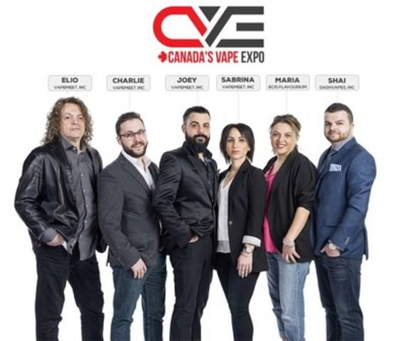 Canada's Vape Expo team (CNW Group/Canada's Vape Expo)