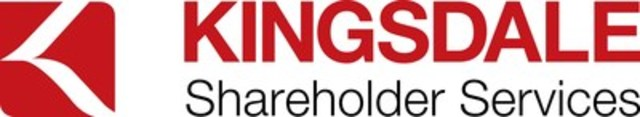 Kingsdale Shareholder Services (CNW Group/Kingsdale Shareholder Services Inc.)