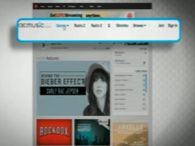 CBC Music - Navigation Video