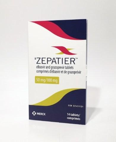 ZEPATIER(TM): Dose Pack (CNW Group/Merck Canada Inc.)