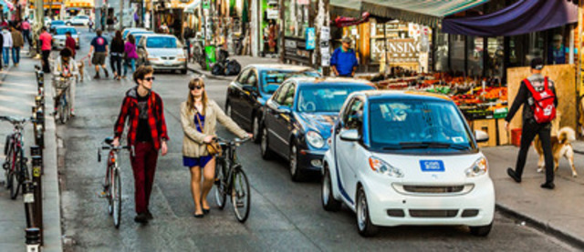 car2go Wins Toronto's Best Car Service Award (CNW Group/car2go)