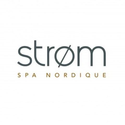 Logo : Strøm spa nordique (Groupe CNW/Strøm Spa Nordique)
