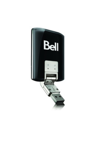 4G LTE Sierra Wireless U313 Turbo Stick from Bell (CNW Group/Bell Mobility)