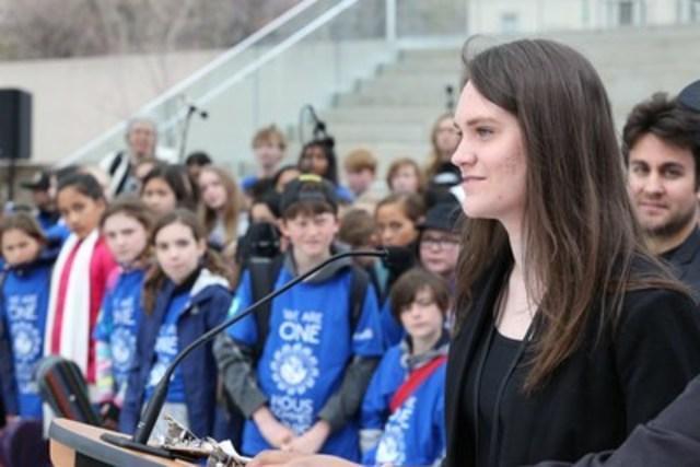 Lundi en Musique réunit les Canadiens pour célébrer l'éducation musicale (Groupe CNW/Coalition pour l'education en musique)