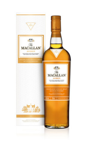 The Macallan - Série 1824 - Amber (Groupe CNW/BEAM Global Canada Inc.)
