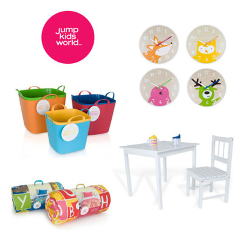 Items from the new Jump Kids World™ collection (CNW Group/Loblaw Companies Limited - Joe Fresh Style and PC Home Division)