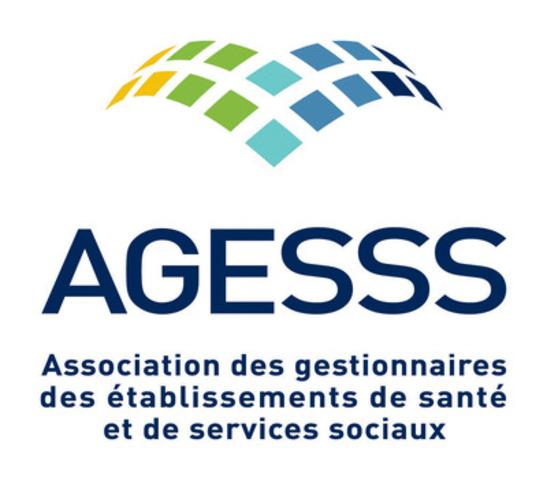 Logo: Association des gestionnaires des établissements de santé et de services sociaux  (Groupe CNW/Association des gestionnaires des établissements de santé et de services sociaux (AGESSS))