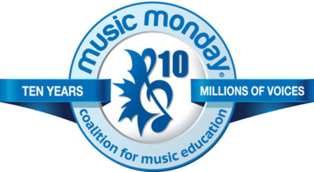 Coalition for Music Education in Canada Music Monday logo. (CNW Group/Coalition for Music Education in Canada)
