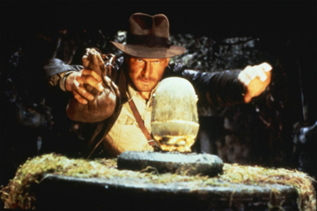 For The First Time Ever, The Complete Indiana Jones Film Collection Comes To Blu-ray! (CNW Group/Paramount Home Media Distribution)