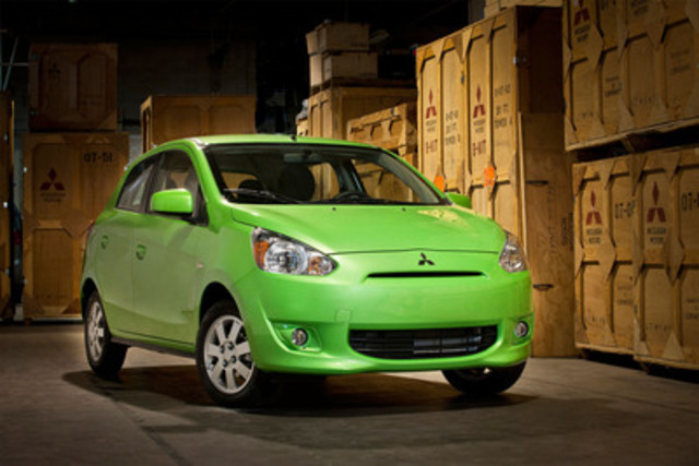 New Mitsubishi Small Car Makes North American Debut in Montreal (CNW Group/Mitsubishi Motor Sales of Canada, Inc.)