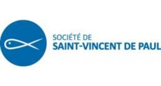 Logo : Société de Saint-Vincent de Paul (Groupe CNW/Société de Saint-Vincent de Paul de Montréal)