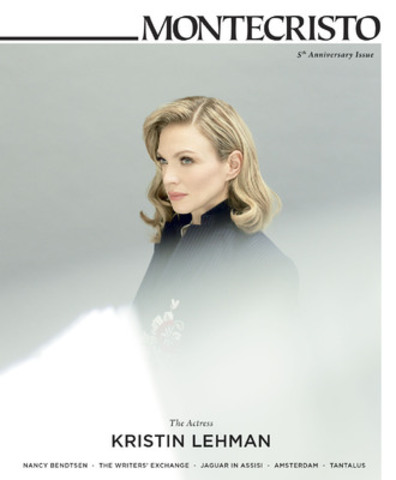 Actress Kristin Lehman in the MONTECRISTO 5th Anniversary Issue, Winter 2013 (CNW Group/MONTECRISTO Magazine)