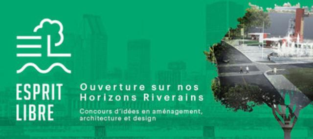 Une première à Sainte-Catherine - Concours d'idées Esprit Libre - Ouverture sur nos horizons riverains (Groupe CNW/Ville de Sainte-Catherine)