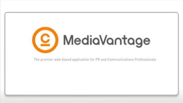 Video: MediaVantage demo video.