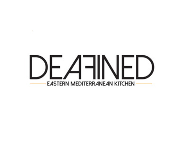 Deafined - Eastern Mediterranean Kitchen logo (CNW Group/Deafined - Eastern Mediterranean Kitchen)