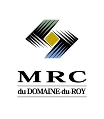 Logo : MRC du Domaine-du-Roy (Groupe CNW/Un lac pour tous)