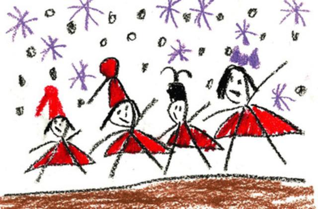 Raven, age 6, McCauley Boys and Girls Club (CNW Group/Sears Canada Inc.)