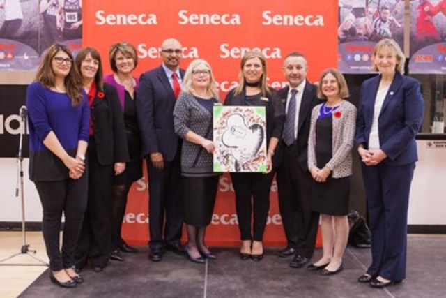 RBC Foundation announced a $300k donation for mental health initiatives at Seneca's King Campus. (Photo courtesy of Seneca College) (CNW Group/Seneca College of Applied Arts and Technology)