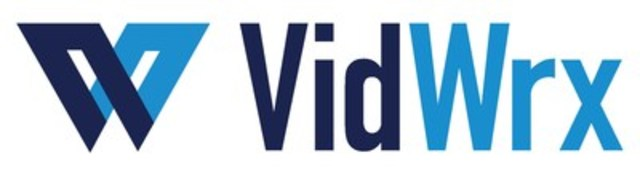 VidWrx Logo (CNW Group/The Howard Group (Sponsorships))