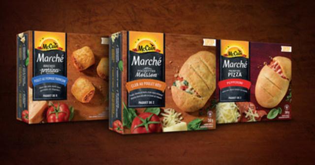 McCain présente aux Canadiens une nouvelle façon satisfaisante de grignoter avec sa nouvelle gamme Marché de McCain (Groupe CNW/McCain Foods (Canada))