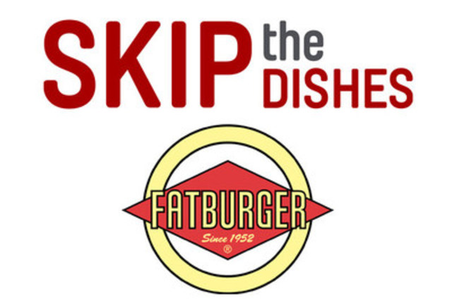 Fatburger and SkipTheDishes strike partnership to bring Fatburger delivery nationwide. (CNW Group/SkipTheDishes)