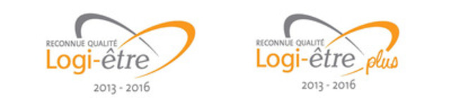 Reconnaissance Qualité Logi-être et Reconnaissance Qualité Logi-être PLUS. (Groupe CNW/FADOQ)