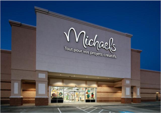Maquette des futurs magasins Micheals au Québec. (Groupe CNW/Michaels)