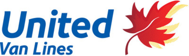 United Van Lines logo (CNW Group/United Van Lines Canada Ltd.)