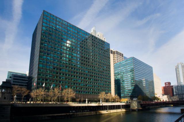 Ivanhoé Cambridge accroît sa présence à Chicago avec l'acquisition du 10 et 120 South Riverside Plaza, deux tours jumelles dans le quartier West Loop. (Groupe CNW/Ivanhoé Cambridge)