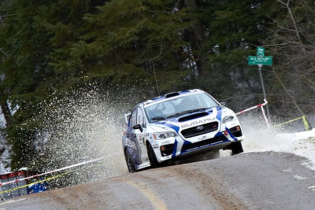 Rally of the Tall Pines 2017 (Groupe CNW/Subaru Canada Inc.)