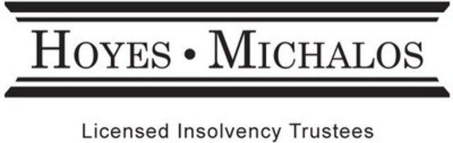Hoyes, Michalos & Associates Inc. (CNW Group/Hoyes, Michalos & Associates Inc.)