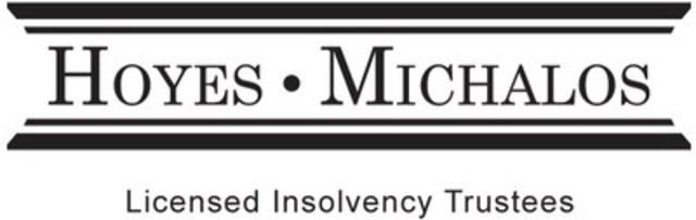Hoyes, Michalos & Associates Inc. (CNW Group/Hoyes, Michalos & Associates Inc.)