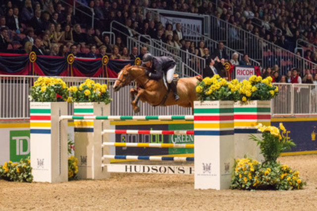 Two-time U.S. Olympic gold medalist Mclain Ward, pictured riding Rothchild, will be back to defend his grand ...