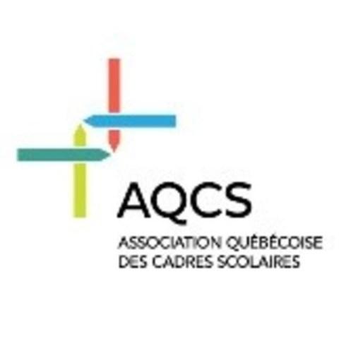 Logo : AQCS - Association québécoise des cadres scolaires (Groupe CNW/Association québécoise des cadres scolaires (AQCS))