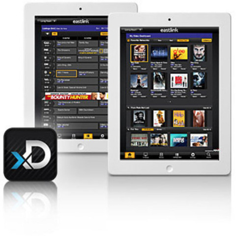 Eastlink's new iPad application personalizes the guide experience (CNW Group/Eastlink)