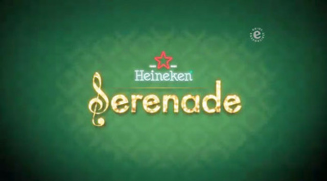 Video: Heineken® is helping ignite romance this Valentine's Day with the launch of a fun new Facebook application called 'The Serenade'.