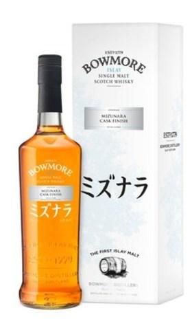 Bowmore Mizunara Cask Finish is the first-ever Islay Single Malt Scotch to be finished in Japanese Mizunara oak casks. (CNW Group/Beam Suntory Inc.)