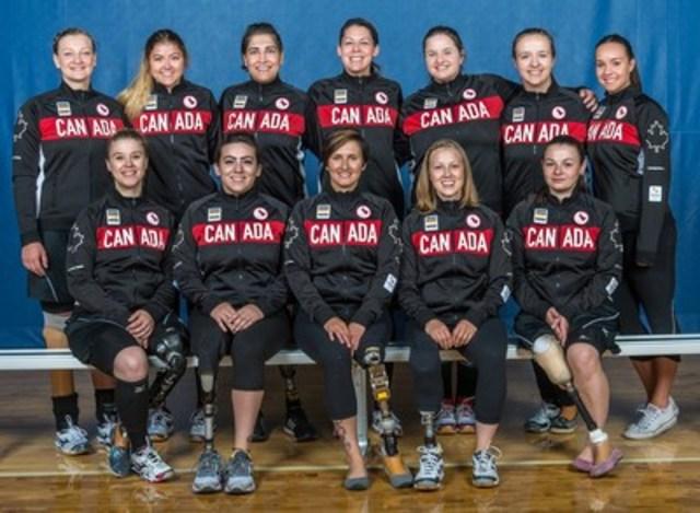 Volleyball Canada et le Comité paralympique canadien sont fiers d'annoncer les 12 athlètes mises en nomination pour la sélection dans Équipe Canada pour écrire une page d'histoire en volleyball assis féminin aux Jeux paralympiques de Rio 2016 en septembre.  Photo : Rob Hislop / Comité paralympique canadien (Groupe CNW/Comité paralympique canadien (CPC))
