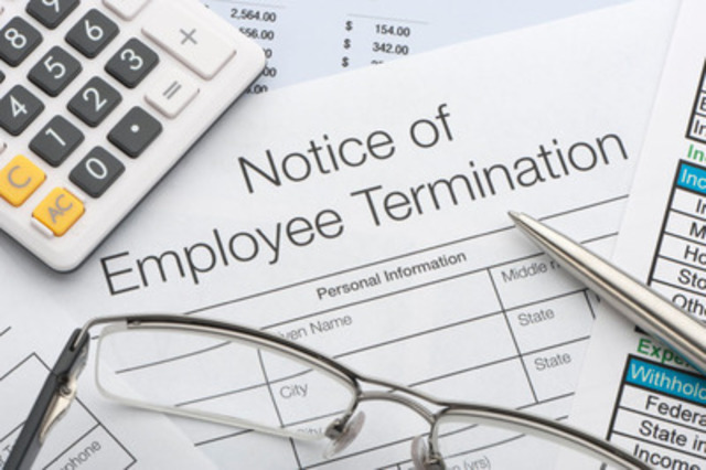 Canadian businesses and organizations could do more to reduce litigation risks related to terminations of employment, says the Canadian Payroll Association, the authoritative source for Canadian payroll knowledge, providing compliance services, professional development, advocacy and professional certification. Enroll in a Professional Development Seminar on Terminations today. (CNW Group/Canadian Payroll Association)