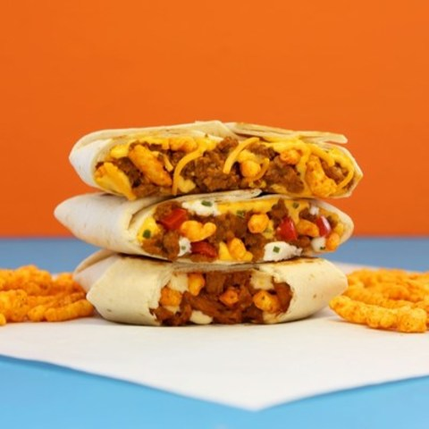 Taco Bell's Canadian exclusive Cheetos Crunchwrap Slider has made international waves of excitement since launching on February 29th. (CNW Group/Taco Bell)