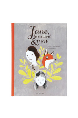 GRAND PRIX 2013 VOLET Illustration Couverture Livre - Jane le renard et moi - Isabelle Arsenault (Groupe CNW/EDITIONS INFOPRESSE INC)