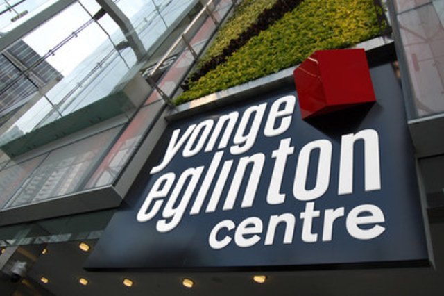 Yonge Eglinton Centre Brand Mark. (CNW Group/Kramer Design Associates)