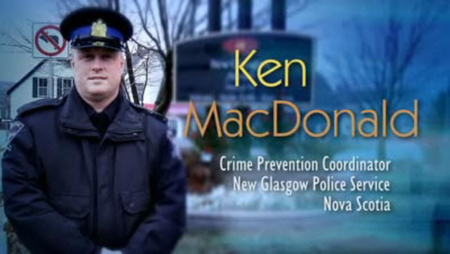 Video: Testimonial: Ken MacDonald, Crime Prevention Coordinator, New Glasgow Police Service, Nova Scotia